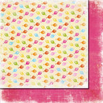 Fancy Pants Designs - Beach Babe Collection - 12 x 12 Double Sided Paper - Fish Farm