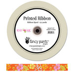 Fancy Pants Designs - Beach Babe Collection - Printed Ribbon - 25 Yards