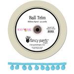 Fancy Pants Designs - Beach Babe Collection - Aqua Ball Trim - 25 Yards