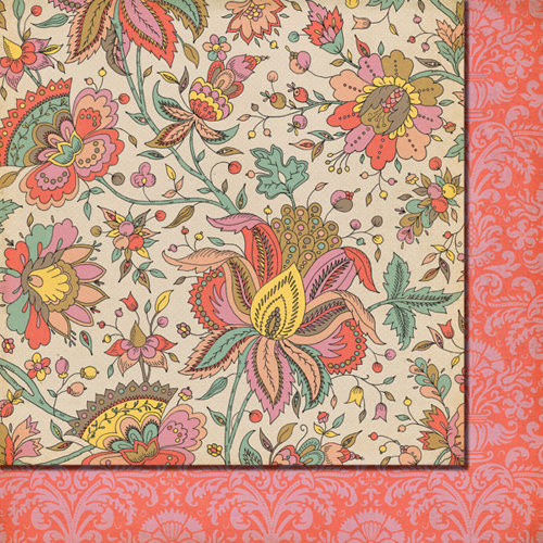 Fancy Pants Designs - It's the Little Things Collection - 12 x 12 Double Sided Paper - Hummingbird