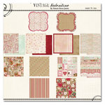 Fancy Pants Designs - Vintage Valentine Collection - 12 x 12 Paper Kit, BRAND NEW