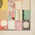 Fancy Pants Designs - It's the Little Things Collection - 12 x 12 Double Sided Paper - It's the Little Things Cards