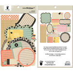 Fancy Pants Designs - It's the Little Things Collection - Journal Embellishments - Die Cut Cardstock Pieces