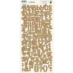 Fancy Pants Designs - It's the Little Things Collection - Alphabet Cardstock Stickers