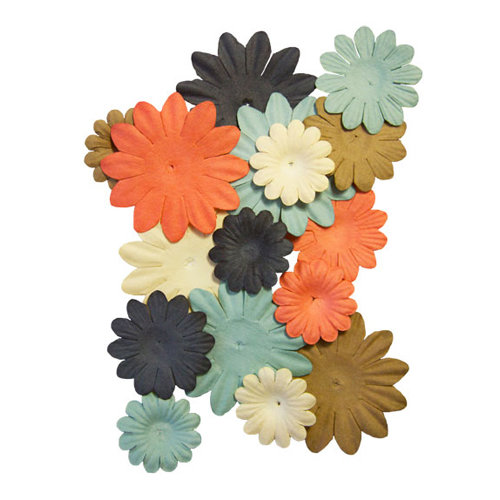 Fancy Pants Designs - It's the Little Things Collection - Paper Flowers