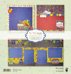 Fancy Pants Designs - To the Moon Collection - 12 x 12 Layout Kit