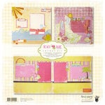 Fancy Pants Designs - Beach Babe Collection - 12 x 12 Layout Kit, CLEARANCE