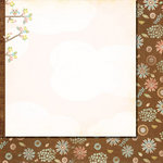 Fancy Pants Designs - Baby Mine Collection - 12 x 12 Double Sided Paper - By the Inch