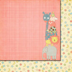 Fancy Pants Designs - Baby Mine Collection - 12 x 12 Double Sided Paper - How Tall