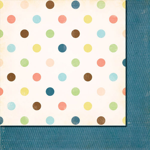 Fancy Pants Designs - Baby Mine Collection - 12 x 12 Double Sided Paper - Little One