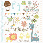 Fancy Pants Designs - Baby Mine Collection - Rub Ons
