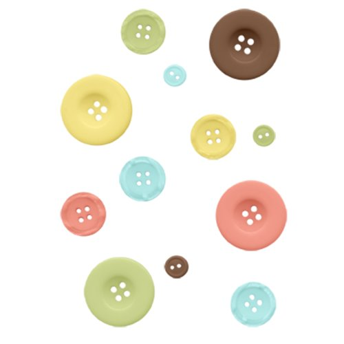 Fancy Pants Designs - Baby Mine Collection - Buttons