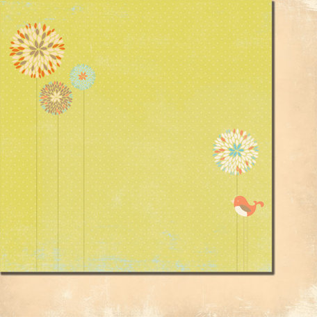 Fancy Pants Designs - Summer's End Collection - 12 x 12 Double Sided Paper - Growing