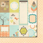 Fancy Pants Designs - Summer's End Collection - 12 x 12 Double Sided Paper - Summer's End Cards