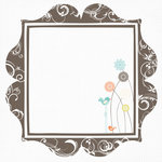 Fancy Pants Designs - Summer's End Collection - 12 x 12 Printed Transparent Overlays
