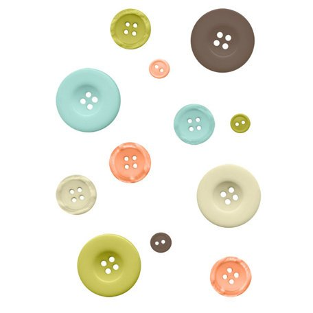 Fancy Pants Designs - Summer's End Collection - Buttons