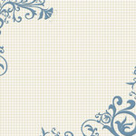 Fancy Pants Designs - My Family Collection - 12 x 12 Flocked Transparent Overlays