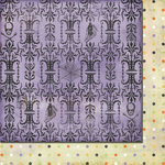 Fancy Pants Designs - Oct 31st Collection - Halloween - 12 x 12 Double Sided Paper - Eerie