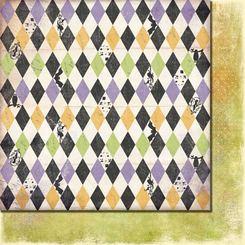 Fancy Pants Designs - Oct 31st Collection - Halloween - 12 x 12 Double Sided Paper - Spooks