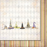 Fancy Pants Designs - Oct 31st Collection - Halloween - 12 x 12 Double Sided Paper - Magic