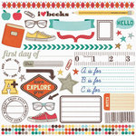 Fancy Pants Designs - Off to School Collection - Rub Ons