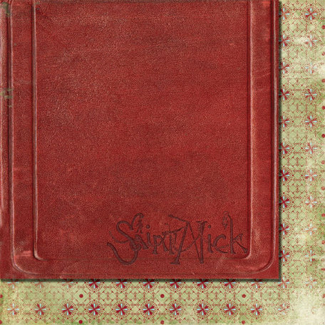 Fancy Pants Designs - Saint Nick Collection - Christmas - 12 x 12 Double Sided Paper - Christmas Story