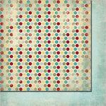 Fancy Pants Designs - Saint Nick Collection - Christmas - 12 x 12 Double Sided Paper - Sugar Plum
