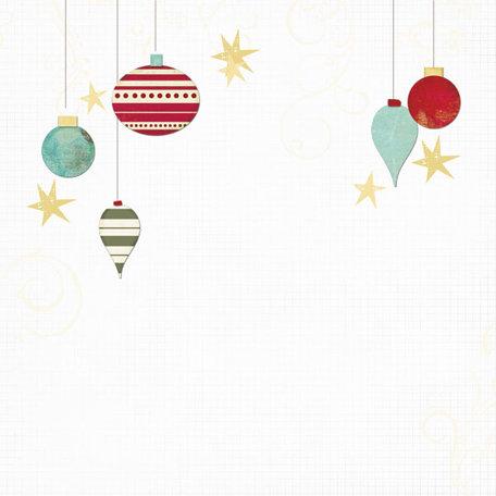 Fancy Pants Designs - Saint Nick Collection - Christmas - 12 x 12 Printed Transparent Overlays