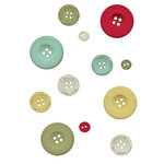 Fancy Pants Designs - Saint Nick Collection - Christmas - Buttons