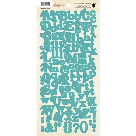 Fancy Pants Designs - Saint Nick Collection - Christmas - Alphabet Cardstock Stickers
