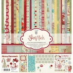 Fancy Pants Designs - Saint Nick Collection - Christmas - 12 x 12 Paper Kit