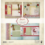 Fancy Pants Designs - Saint Nick Collection - Christmas - 12 x 12 Layout Kit