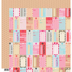 Fancy Pants Designs - Love Story Collection - 12 x 12 Double Sided Paper - Be Mine