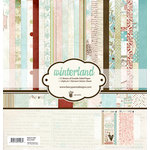Fancy Pants Designs - Winterland Collection - 12 x 12 Paper Kit