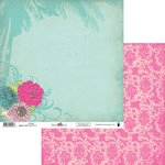 Fancy Pants Designs - Summer Soul Collection - 12 x 12 Double Sided Paper - Mirage