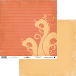 Fancy Pants Designs - Summer Soul Collection - 12 x 12 Double Sided Paper - Snorkel