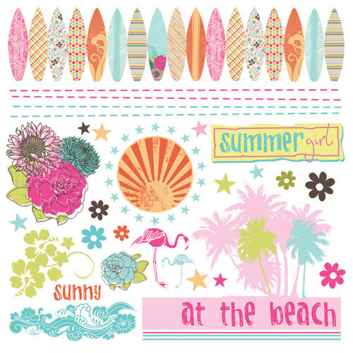 Fancy Pants Designs - Summer Soul Collection - Rub Ons