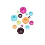 Fancy Pants Designs - Summer Soul Collection - Buttons