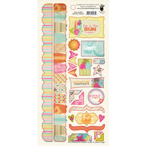 Fancy Pants Designs - Summer Soul Collection - Cardstock Stickers - Element