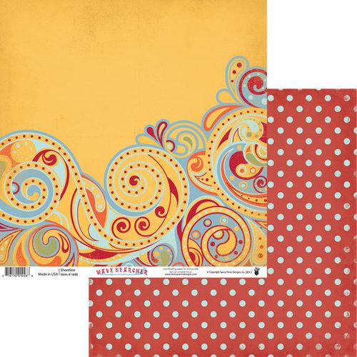 Fancy Pants Designs - Wave Searcher Collection - 12 x 12 Double Sided Paper - Shoreline