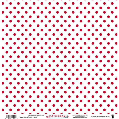 Fancy Pants Designs - Wave Searcher Collection - 12 x 12 Flocked Transparent Overlays