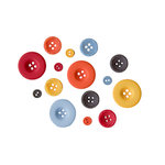 Fancy Pants Designs - Wave Searcher Collection - Buttons