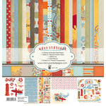 Fancy Pants Designs - Wave Searcher Collection - 12 x 12 Paper Kit