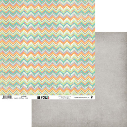 Fancy Pants Designs - Be You Collection - 12 x 12 Double Sided Paper - Daylight