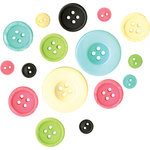 Fancy Pants Designs - Road Show Collection - Buttons, CLEARANCE