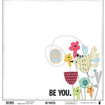 Fancy Pants Designs - Be You Collection - 12 x 12 Printed Transparent Overlays