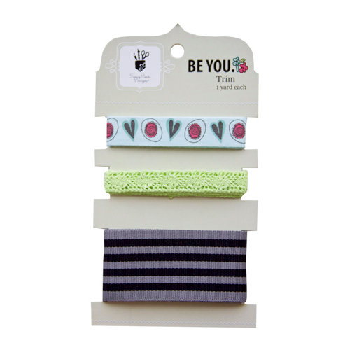 Fancy Pants Designs - Be You Collection - Ribbon Card
