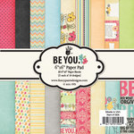 Fancy Pants Designs - Be You Collection - 6 x 6 Paper Pad