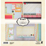 Fancy Pants Designs - Be You Collection - 12 x 12 Layout Kit