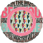 Fancy Pants Designs - Be You Collection - Filter Flower Paper Embellishments